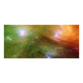 Seven Sisters Pleiades Stars Space Personalized Rack Card
