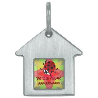 Seven-Spotted Ladybug Pet ID Tag