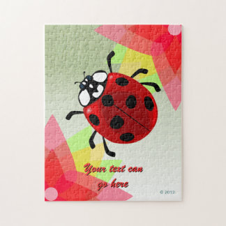 Seven-Spotted Ladybug Puzzle