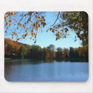 Seven Springs Fall Trees and Pond Mouse Pad