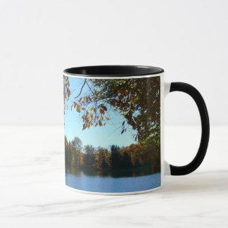 Seven Springs Fall Trees and Pond Mug