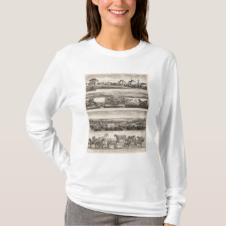 Seven Springsand Milford Stock Farms, Kansas T-Shirt