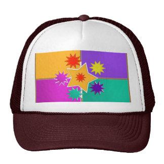 Seven STAR creative work : GREETINGS at lowprice Mesh Hat