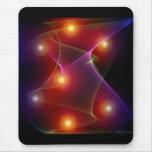 Seven Suns Abstract Digital Art Mousepad Mouse Pads
