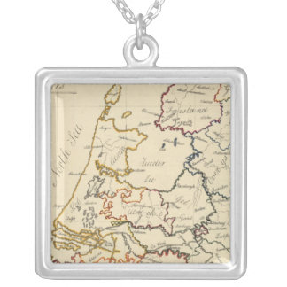 Seven United Provinces 2 Silver Plated Necklace
