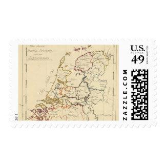 Seven United Provinces 2 Stamps