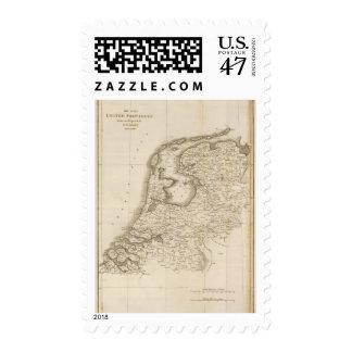 Seven United Provinces 3 Stamp