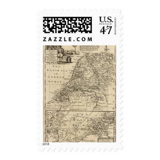 Seven United Provinces 4 Postage Stamp