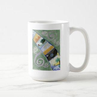 Seven Wonders Art Mug