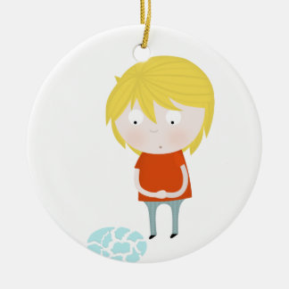 Seven years of bad luck christmas tree ornaments