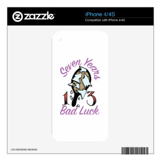 Seven Years Skins For The iPhone 4S
