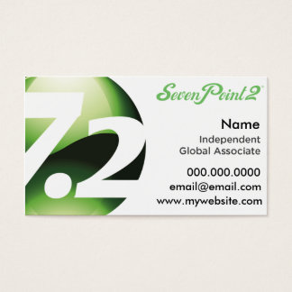 SevenPoint2 Weight Loss Made Simple Business Cards