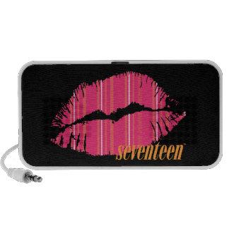 Seventeen Lips Travel Speaker