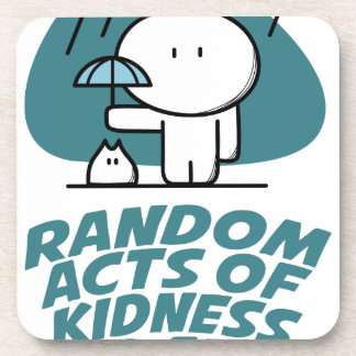Seventeenth February - Random Acts Of Kindness Day Drink Coaster