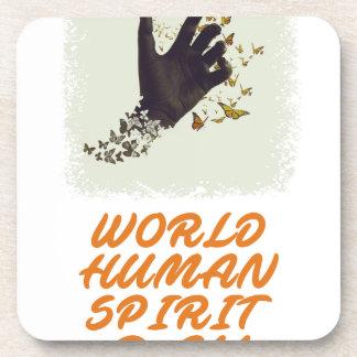 Seventeenth February - World Human Spirit Day Coaster