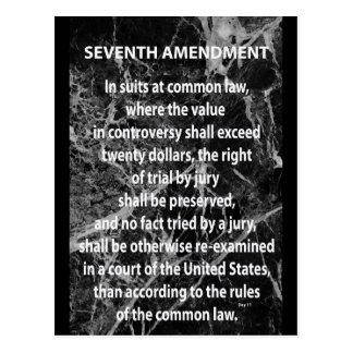 Seventh Amendment Postcard