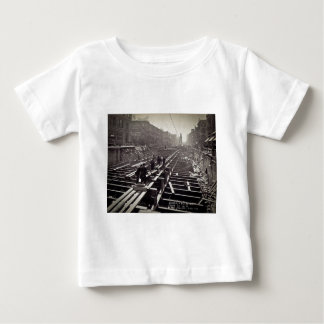 Seventh Avenue and 24-25th Streets Subway Baby T-Shirt