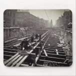 Seventh Avenue and 24-25th Streets Subway Mouse Pad