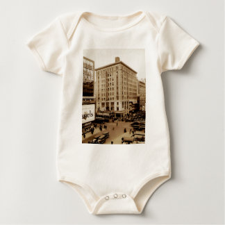 Seventh Avenue and  47th Street New York City Baby Bodysuit