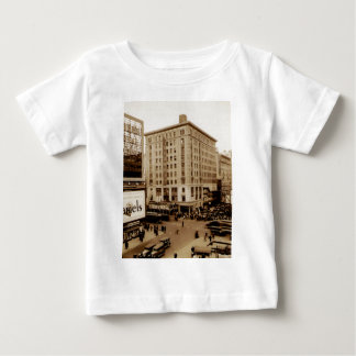 Seventh Avenue and  47th Street New York City Baby T-Shirt