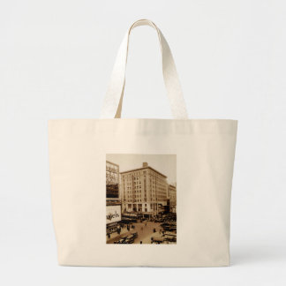 Seventh Avenue and  47th Street New York City Canvas Bags