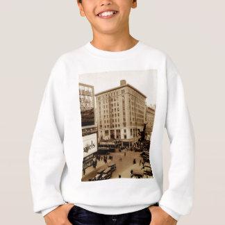 Seventh Avenue and  47th Street New York City Sweatshirt