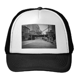 Seventh Avenue and 53rd Street New York City Photo Trucker Hat