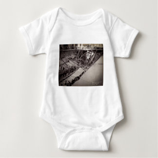 Seventh Avenue Street Collapse New York City 1915 Baby Bodysuit