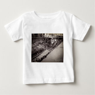 Seventh Avenue Street Collapse New York City 1915 Baby T-Shirt