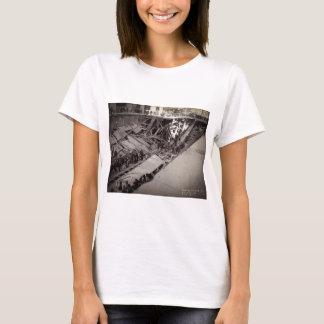 Seventh Avenue Street Collapse New York City 1915 T-Shirt