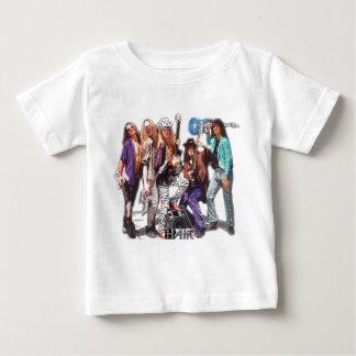 Seventh Day Hair Guitar Baby T-Shirt