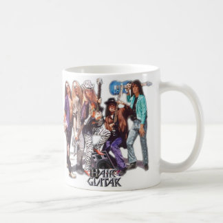Seventh Day  Hair Guitar Mug