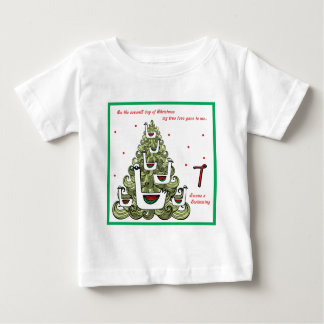 Seventh Day of christmas Baby T-Shirt