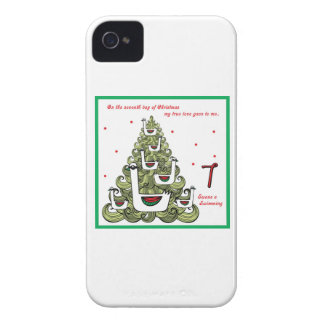 Seventh Day of Christmas iPhone 4 Cover