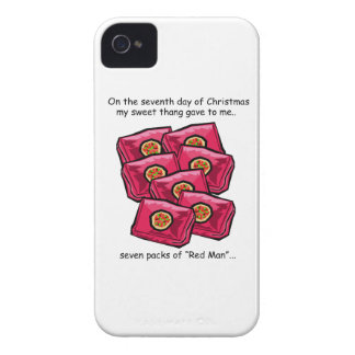 Seventh Day Redneck Christmas iPhone 4 Case-Mate Case
