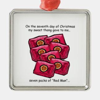 Seventh Day Redneck Christmas Christmas Ornament