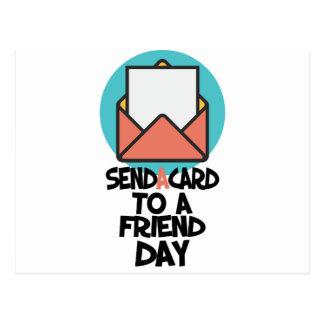 Seventh February - Send a Card to a Friend Day