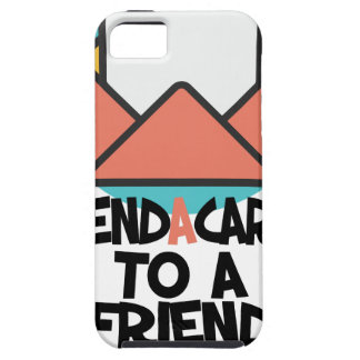 Seventh February - Send a Card to a Friend Day iPhone SE/5/5s Case