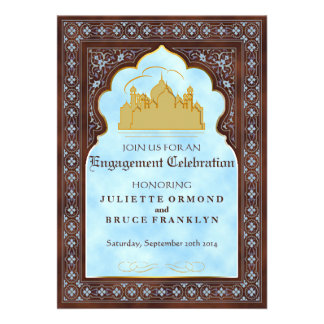 Seventh Heaven - Engagement Invitation Card