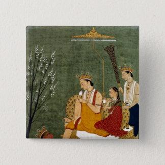 Seventh Incarnation of Vishnu as Rama-Chandra Pinback Button