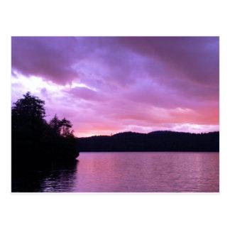 Seventh Lake Sunset II Postcard