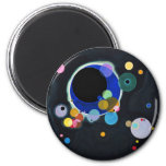 Several Circles 2 Inch Round Magnet
