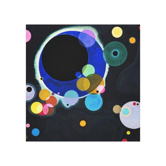 Several Circles Canvas Print