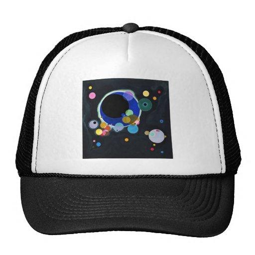Several Circles Mesh Hat
