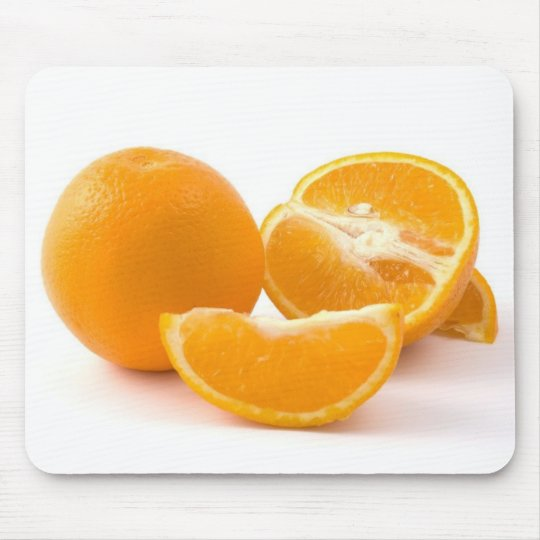 Several Juicy Oranges Mouse Pad