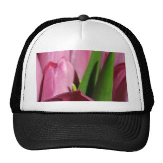 Several Pink Tulips Mesh Hat