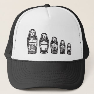 Several Russian Nested Dolls Trucker Hat
