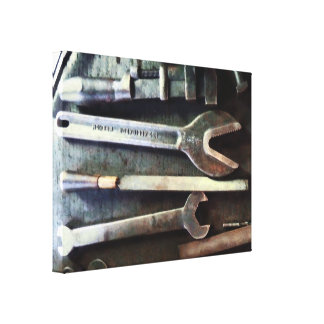 Several Wrenches Canvas Print