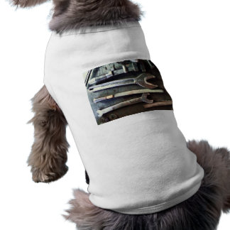 Several Wrenches Dog T Shirt