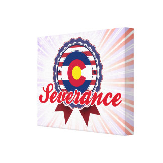 Severance CO Stretched Canvas Print